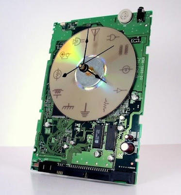 Laser Etched Circuit Board Clock Is A Geeky Timepiece