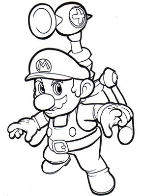 batman coloring sheets: Paper Mario Coloring Pages Cumbria