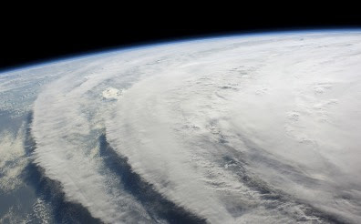 Hurricane Ike, from the International Space Station