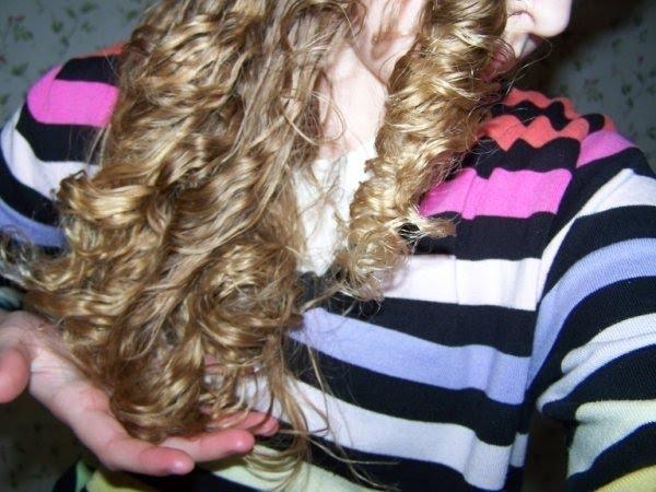 Joy's Braid-n-Curl Results