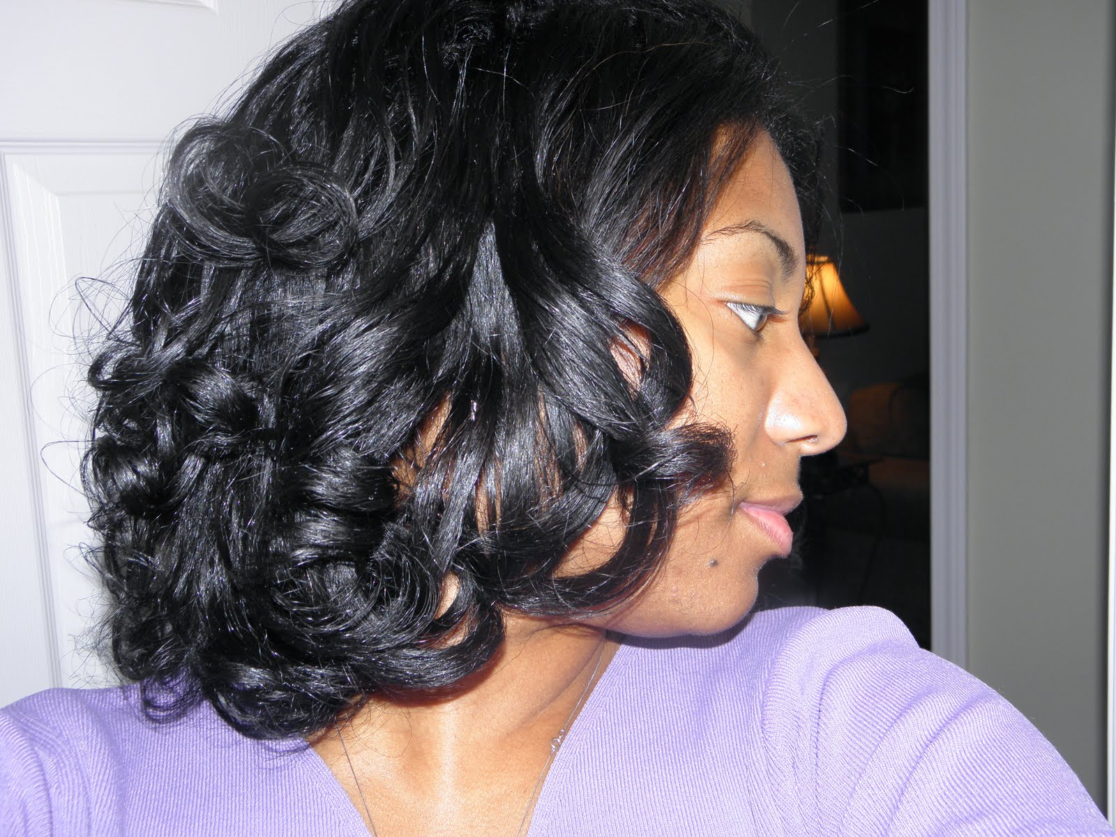 Remarkable The Perfect Roller Set Transitioning Styles Curlynikki Short Hairstyles Gunalazisus