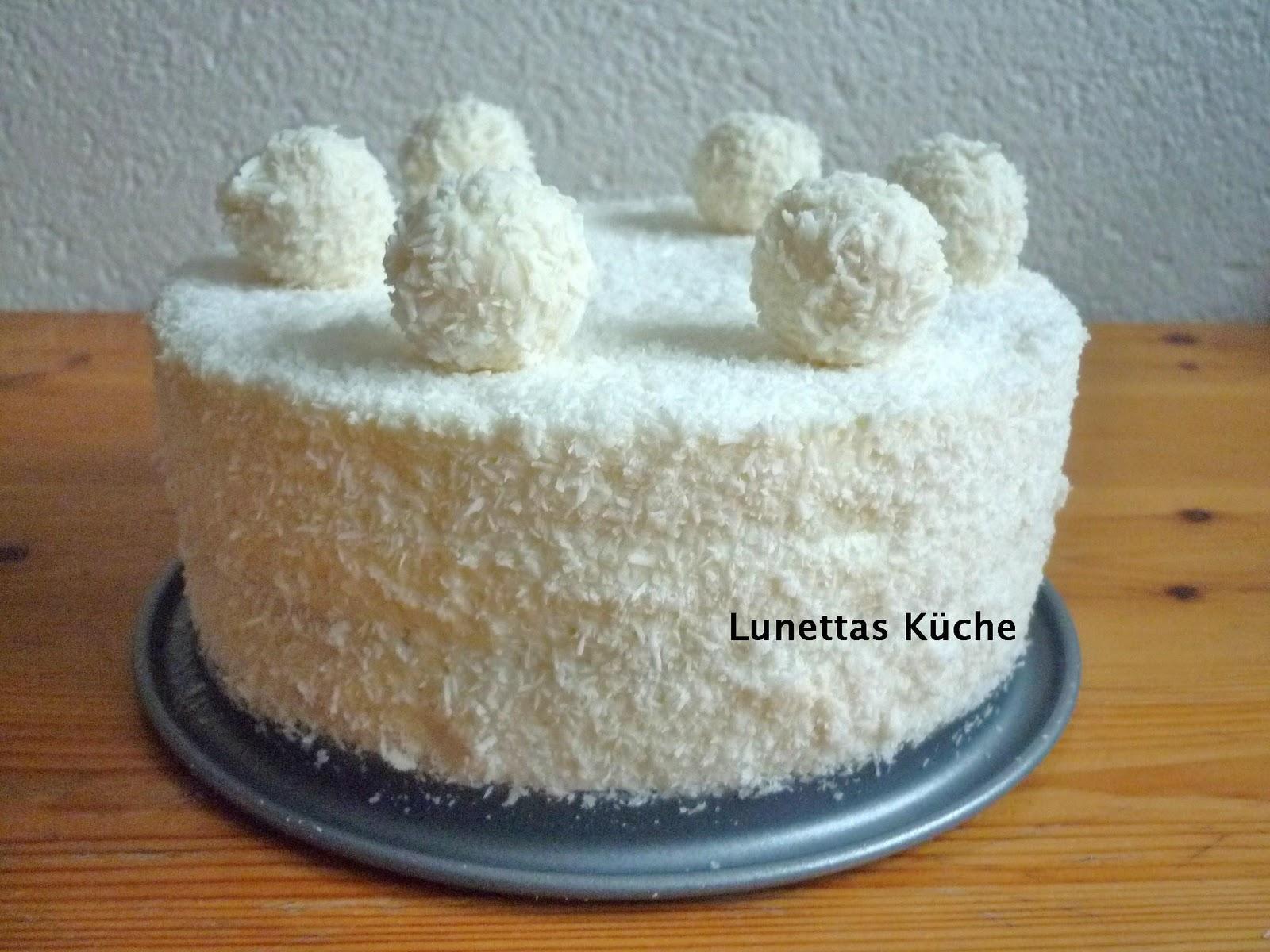 Kokos Schoko Torte