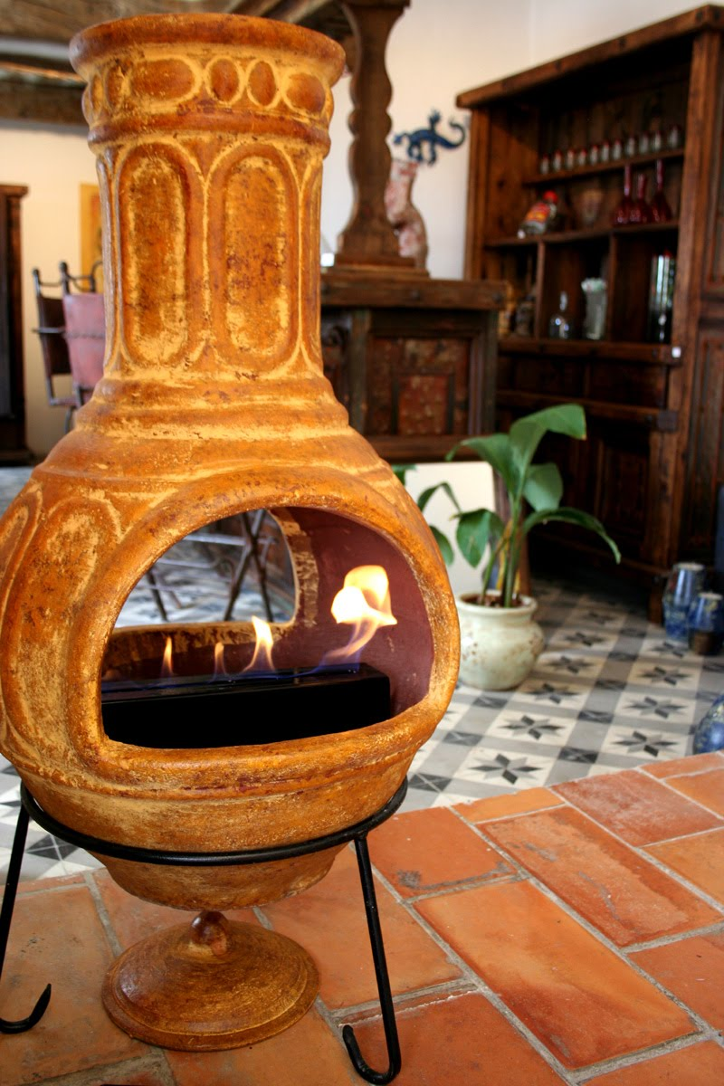 Brasero À L Éthanol amadera, meuble et décoration, le charme éthique du mexique