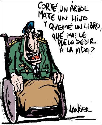 Caricatura de Langer