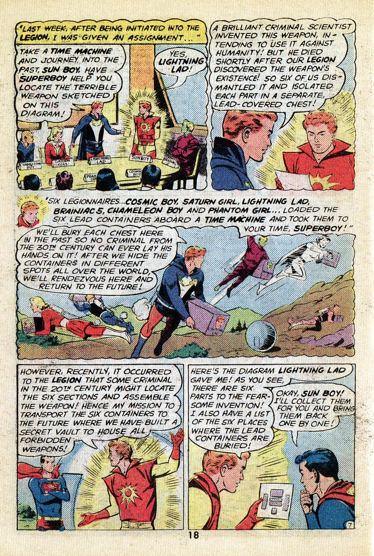 Read online Adventure Comics (1938) comic -  Issue #495 - 18