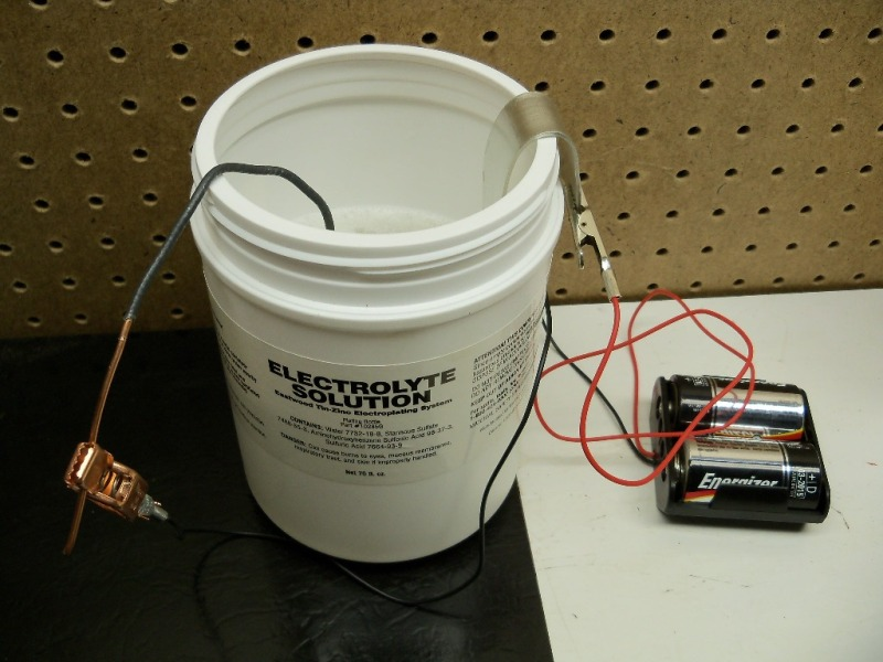 Diy electroplating poemsrom inside the plating container solutioingenieria Choice Image