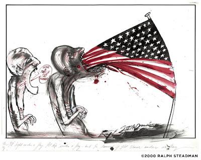 E O M S ]: America by Ralph Steadman