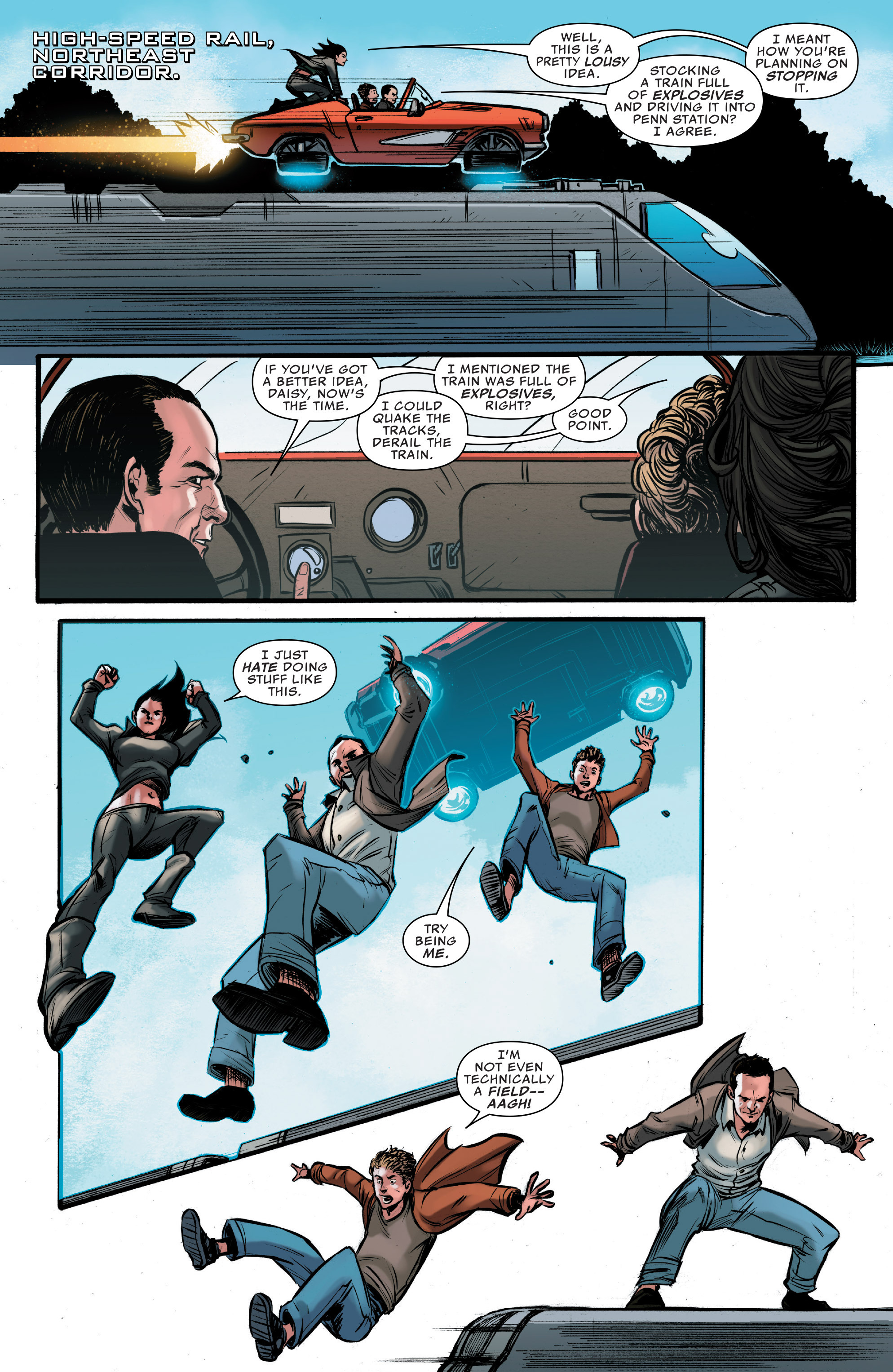 Read online Agents of S.H.I.E.L.D. comic -  Issue #9 - 13