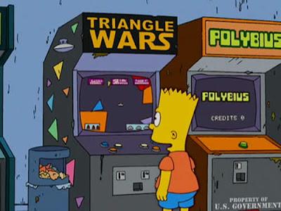 Polybius en los Simpsons