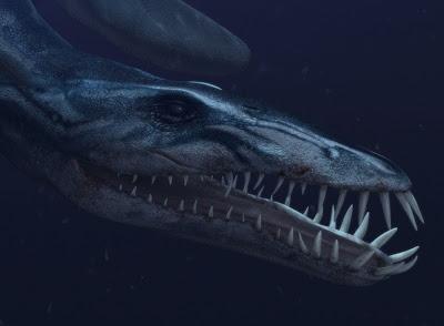 Mandíbulas Liopleurodon