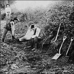 Excavación Piltdown