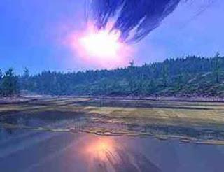 Explosión meteorito