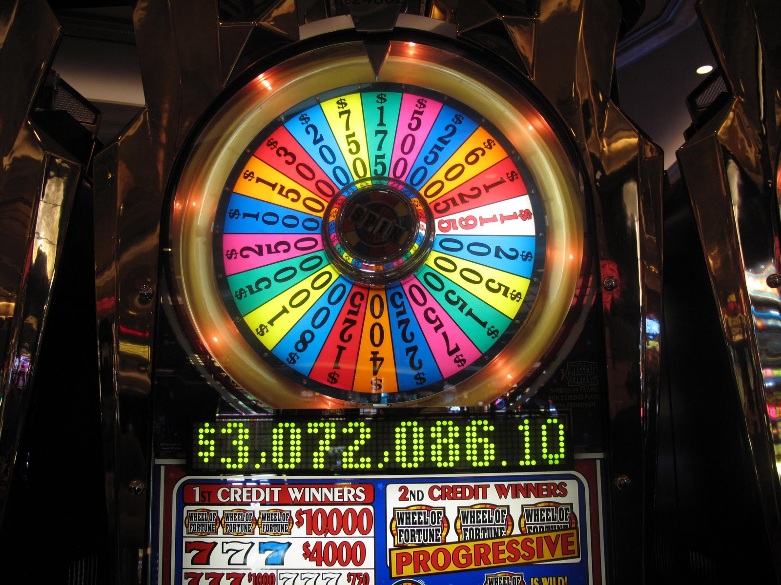 Wheel of fortune online slot machine