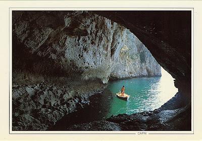 Grotta Bianca, en Capri