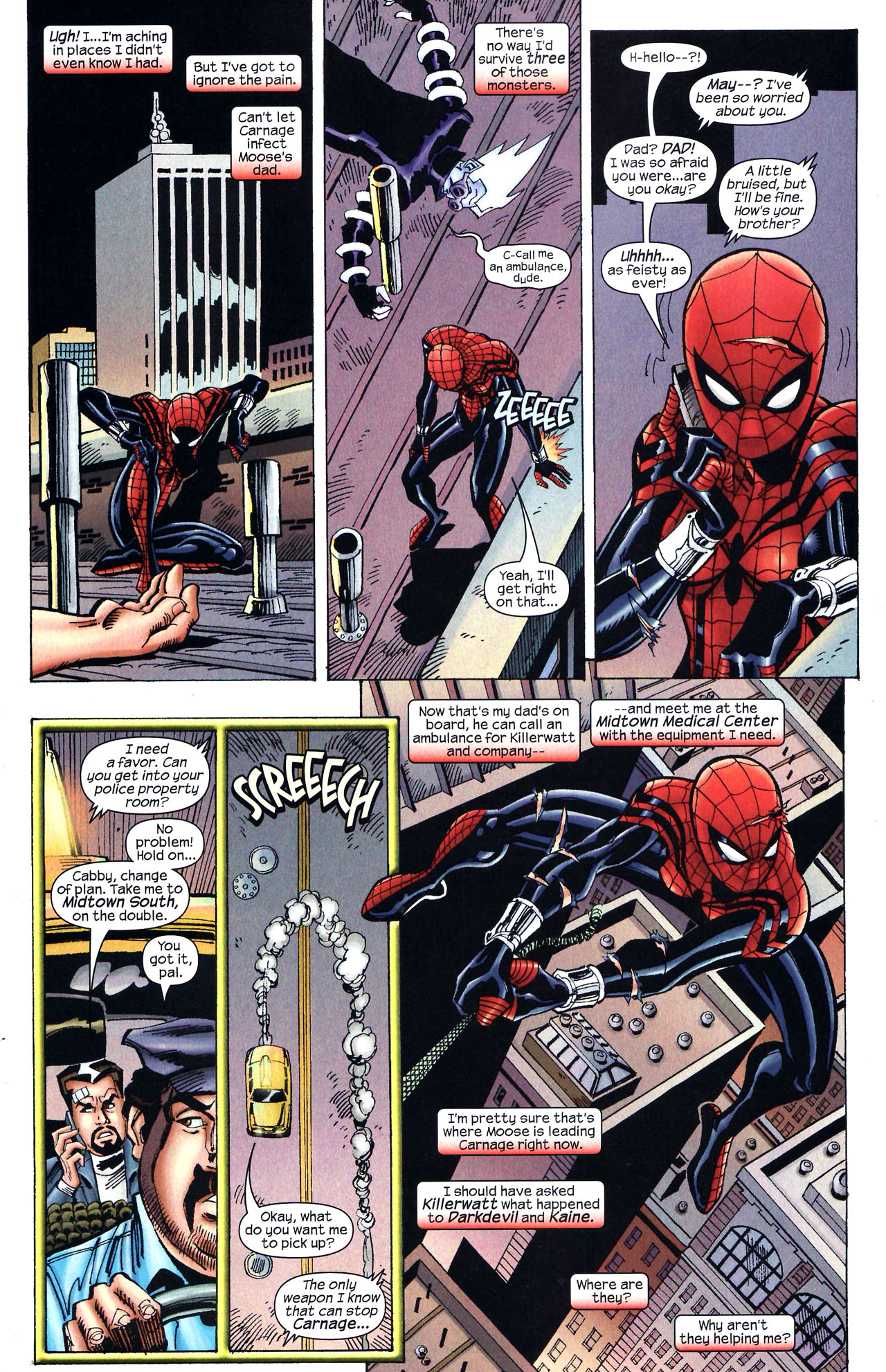 Read online Amazing Spider-Girl comic -  Issue #12 - 12