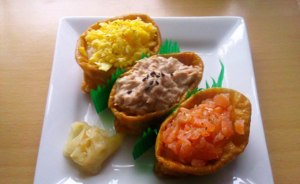 bento mania verr ckt nach der japanischen lunch box rezept inari sushi mit verschiedenen. Black Bedroom Furniture Sets. Home Design Ideas