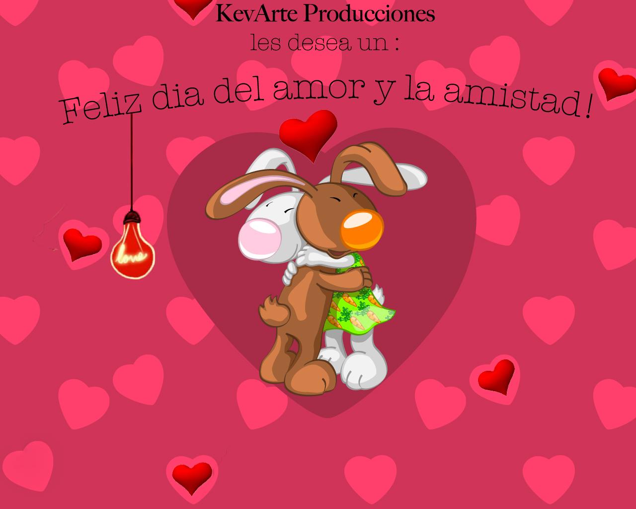 Kevarte Produccion Feliz Dia Del Amor Y La Amistad