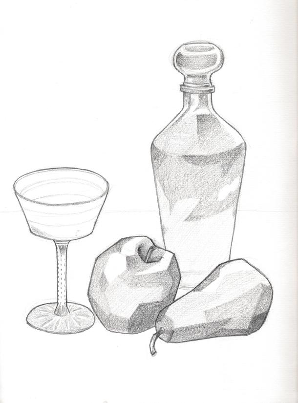 Dibujos de bodegones para pintar - Imagui