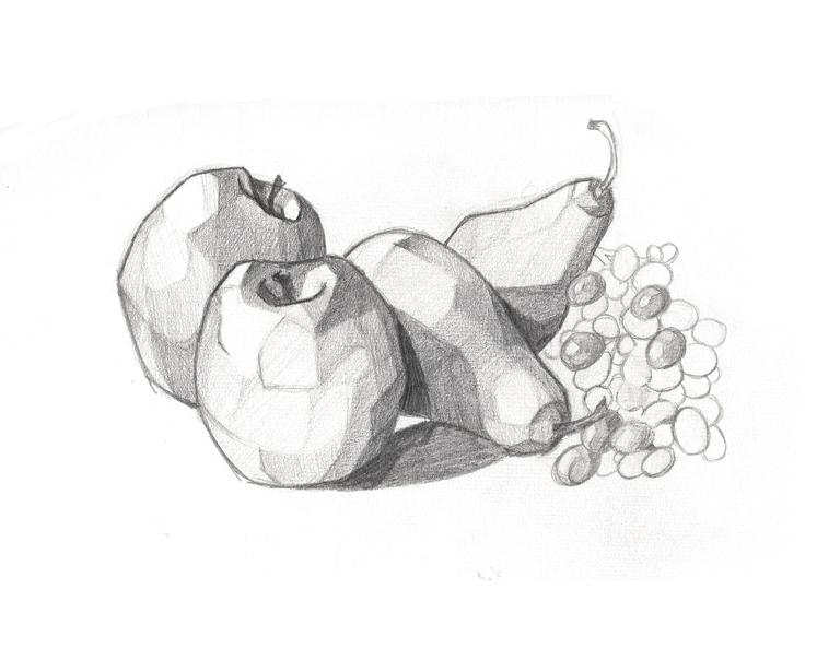 Dibujos Para Colorear Bodegones: Bodegones A Lapiz