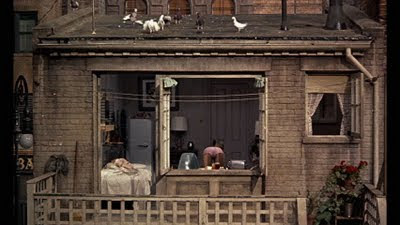 Viewing Edward Hopper Through The Rear Window