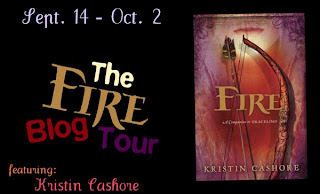 Day 7-10 of the Kristin Cashore Fire Blog Tour
