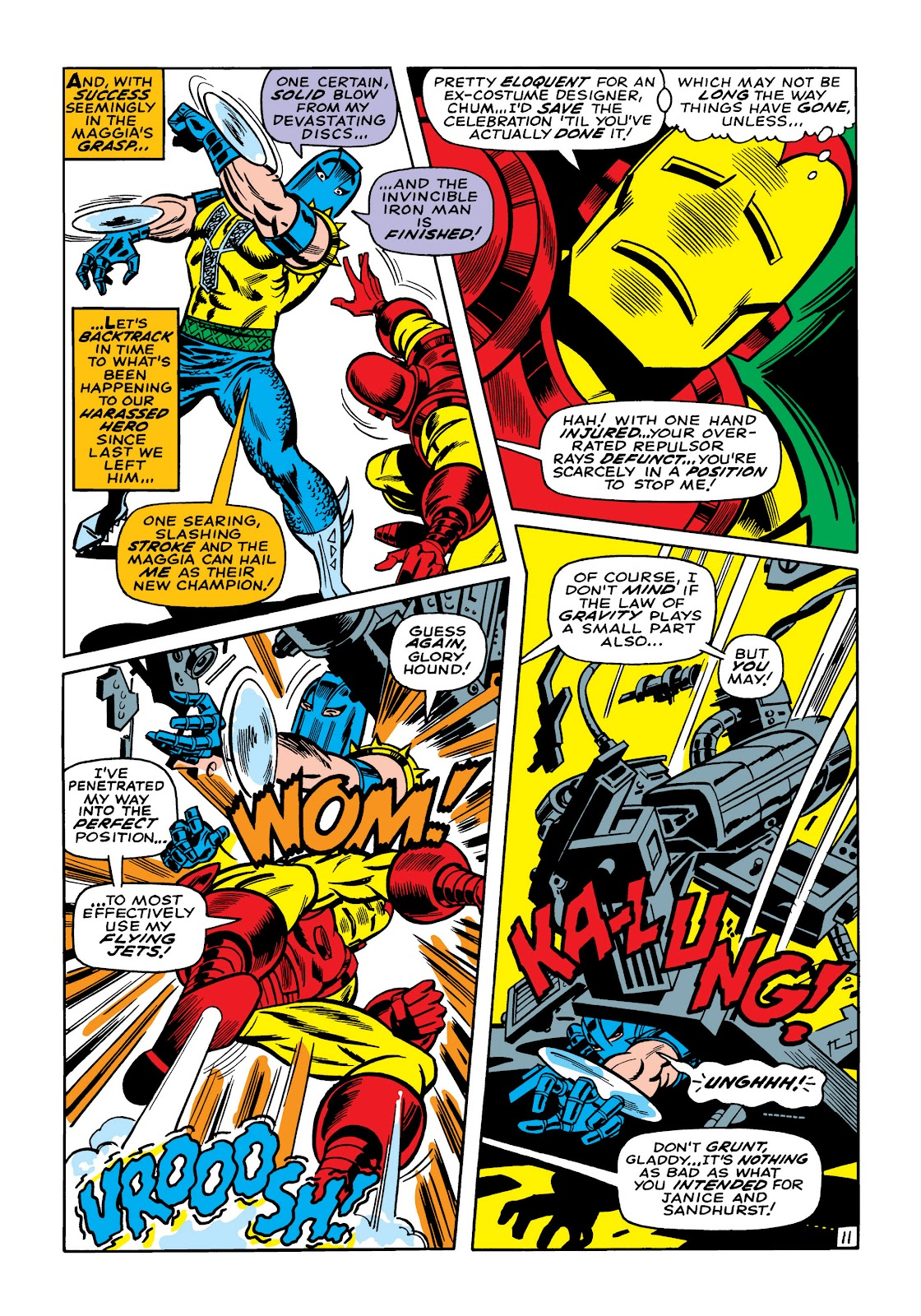 Read online Marvel Masterworks: The Invincible Iron Man comic -  Issue # TPB 5 (Part 2) - 44