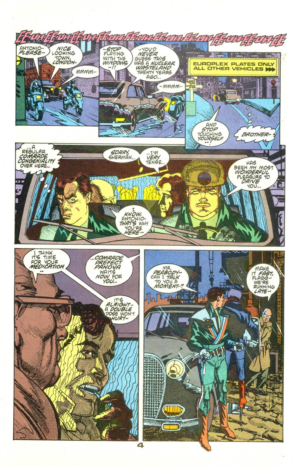 Read online American Flagg! comic -  Issue #23 - 5