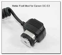 OC1049: Metal Foot Mod for Canon OC-E3
