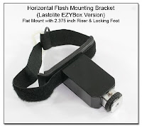 CP1104H: Horizontal Flash Mounting Bracket - Lastolite EZYBox Version