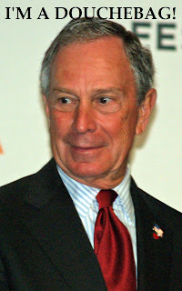 Michael Bloomberg Douchebag