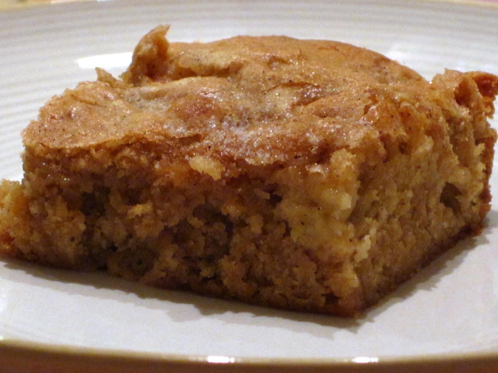 Apple Pie Bars With Cake Mix