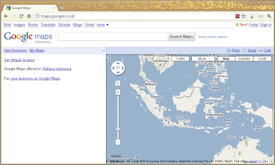 Google Maps Indonesia