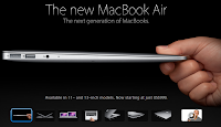 The New MacBook Air 11 Inch and 13 Inch
