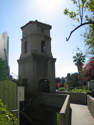 L A Places Hollywood Bowl And High Tower