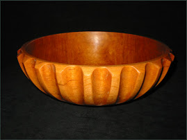 Fluted Cherry Bowl