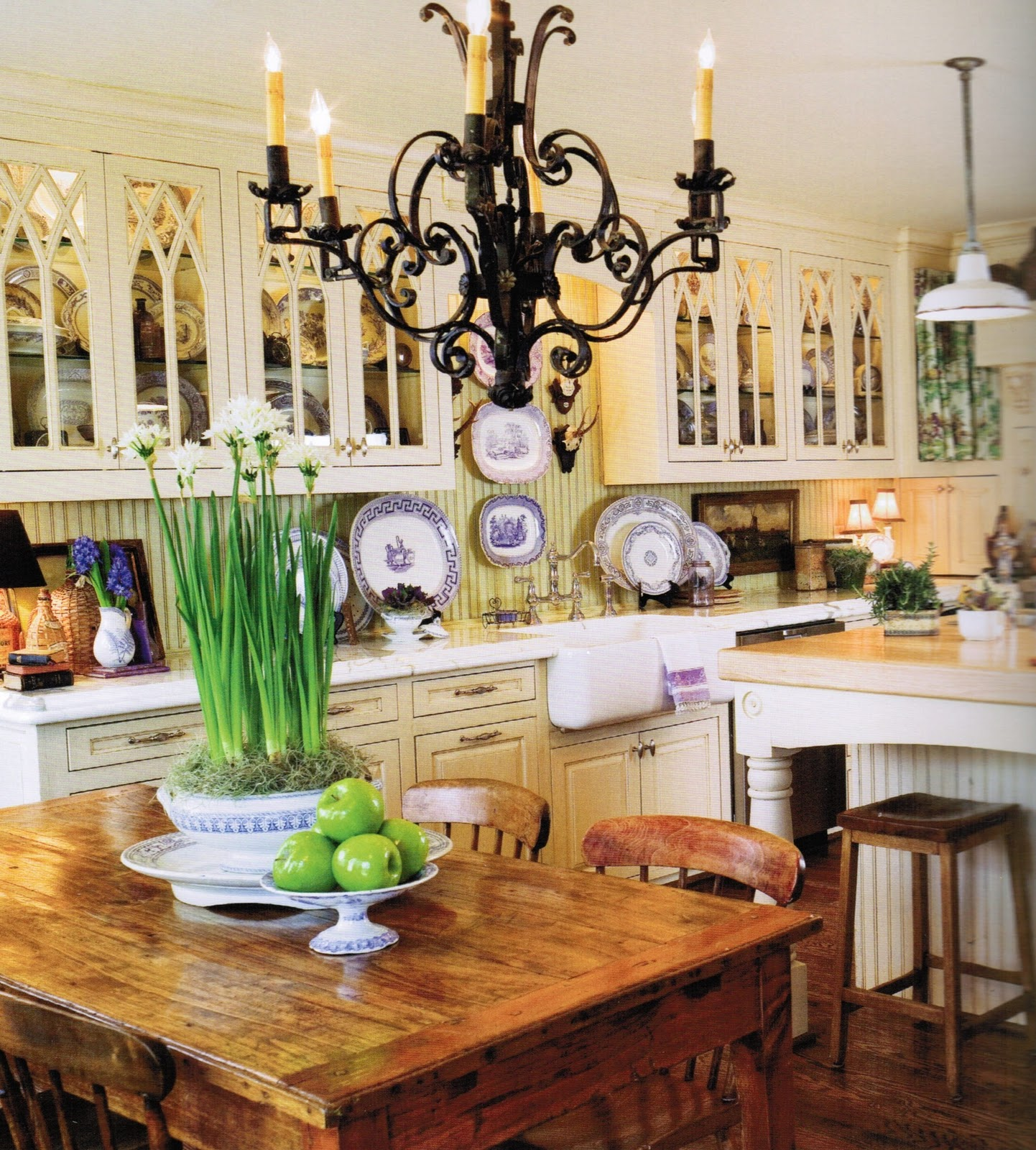 French Country Kitchen Accessories: Maison Decor: French Inspired Home Book Giveaway. The