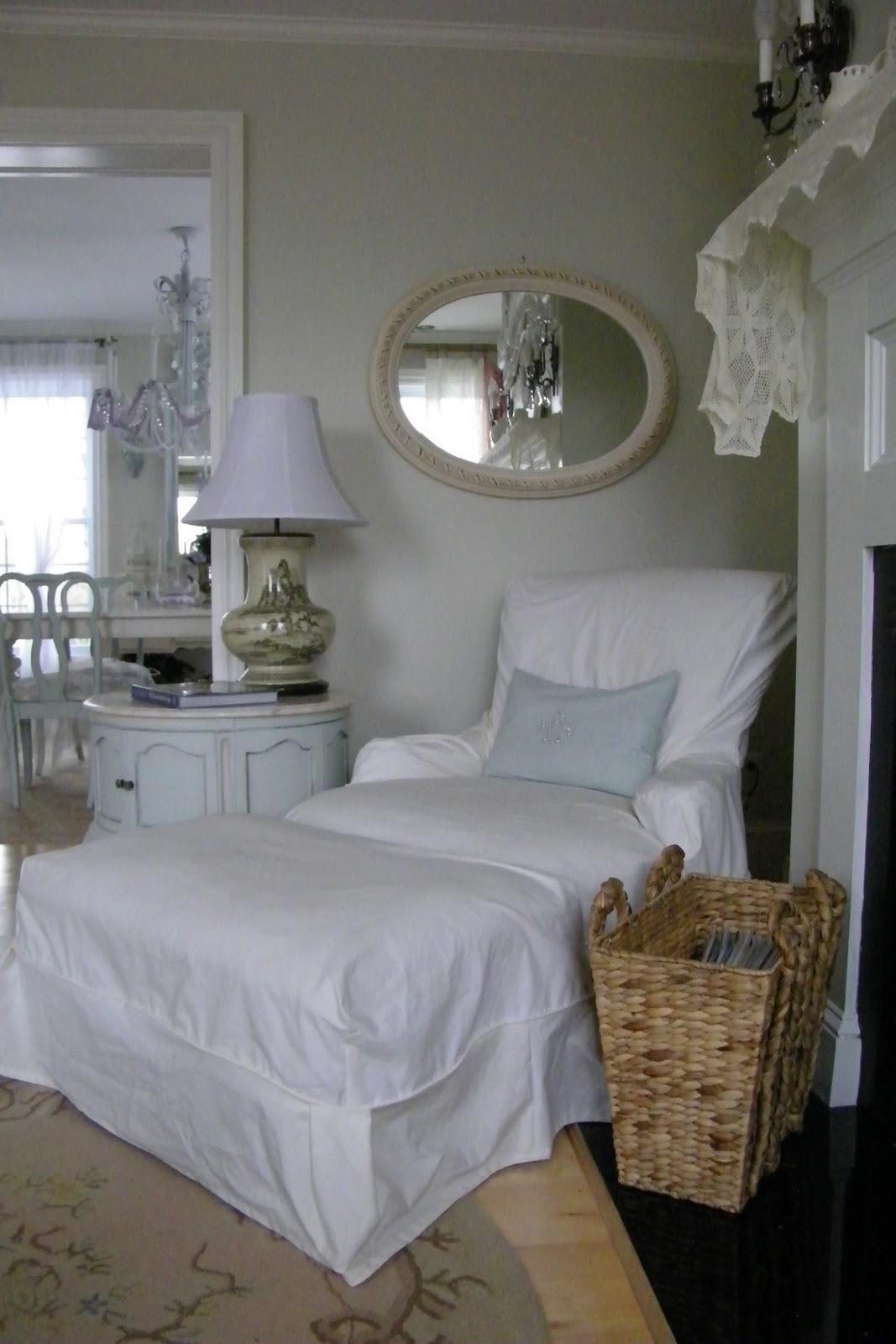 Maison Decor: Shabby Chic Slipcover Style