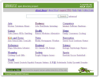 Cara Submit Website / Blog di DMOZ Lengkap