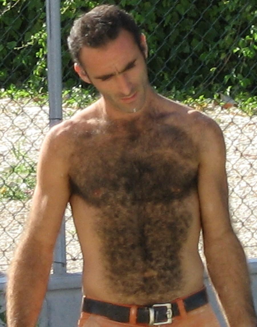 Hairy chest candids