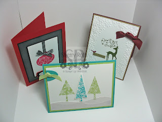 Christmas Stamp-A-Stack Cards