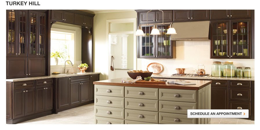 Martha Stewart Turkey Hill Kitchen Cabinets The Steampunk Home: Kitchens At Home Depot -- By Martha