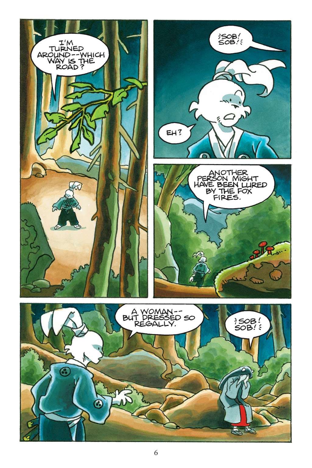 Read online Usagi Yojimbo: Yokai comic -  Issue # Full - 7