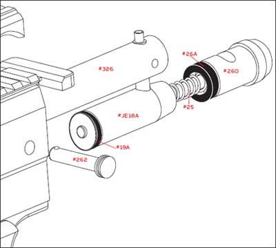 Spyder Paintball Gun Parts