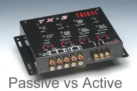 active  passive crossover   fix repair