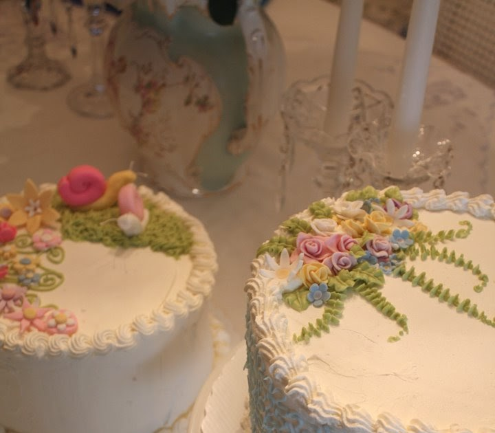 Home Cake Decorating: My Romantic Home: Cake Decorating Class