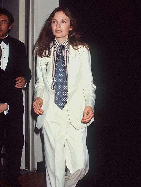 La Garçonne: Diane Keaton a la Annie Hall  La Garçonne: D...