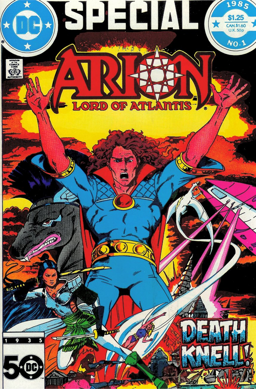 Arion, Lord of Atlantis _Special_1 Page 1