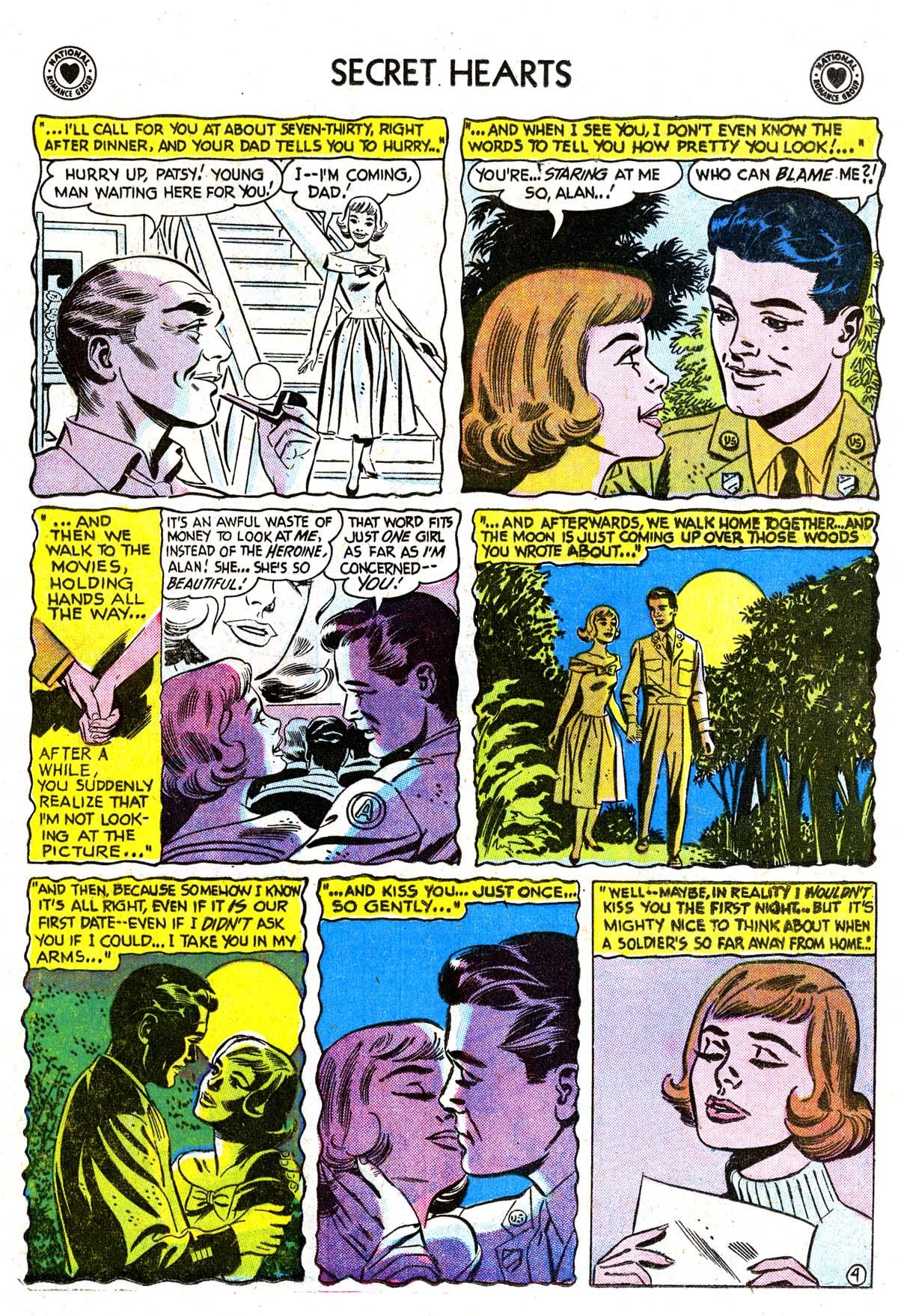 Read online Secret Hearts comic -  Issue #42 - 13