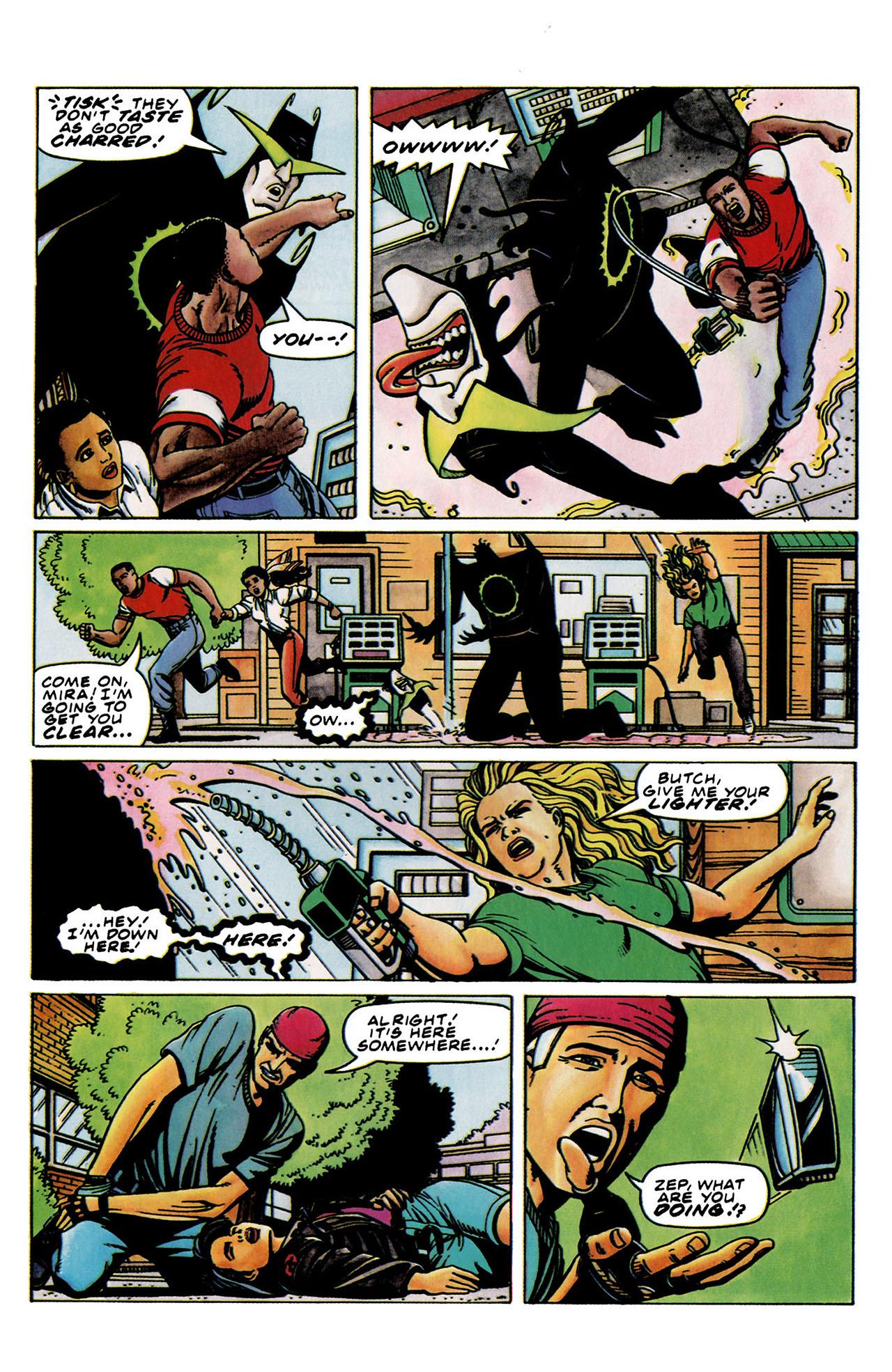 Read online Harbinger (1992) comic -  Issue #33 - 16