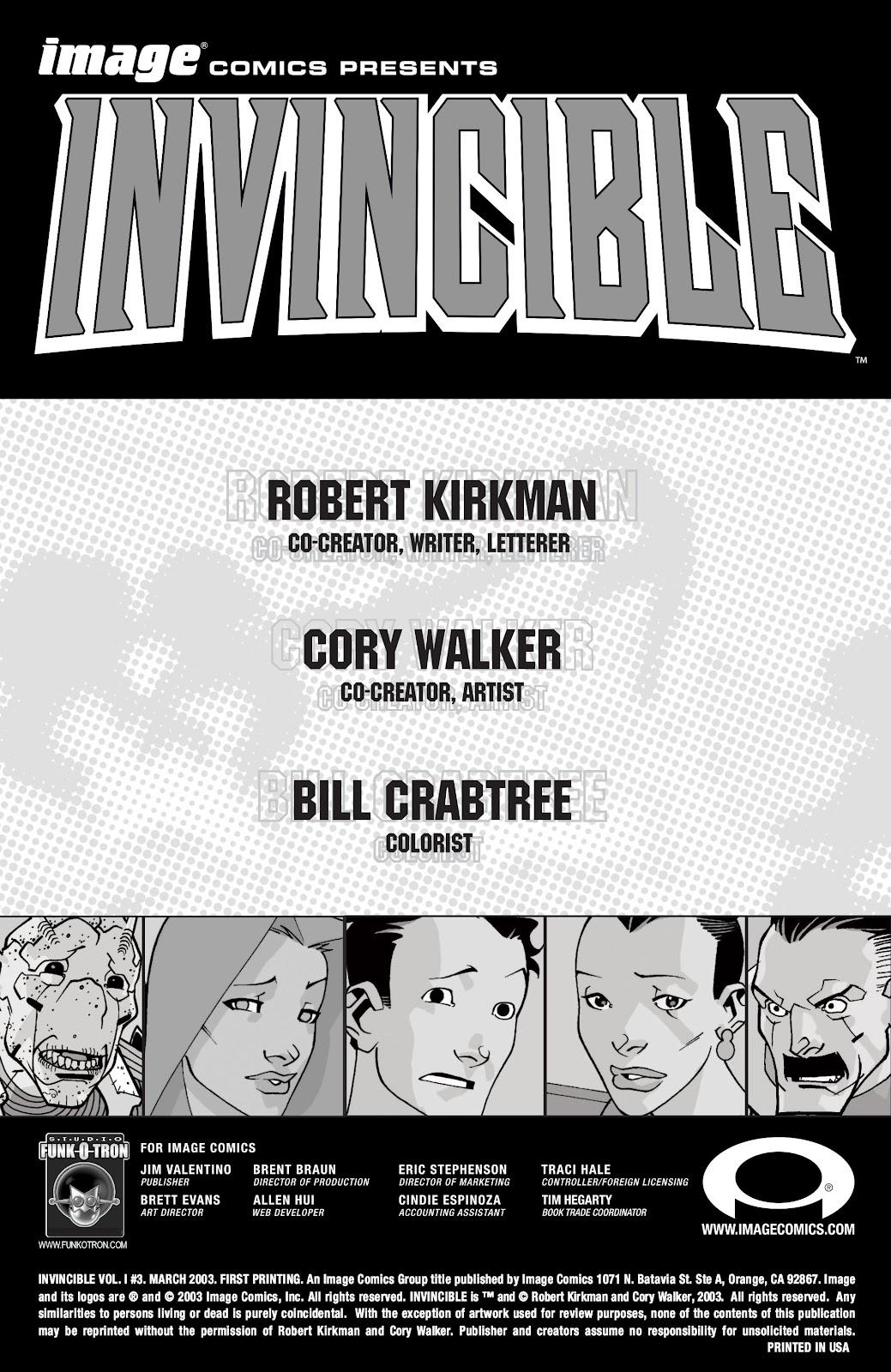 Invincible (2003) 3 Page 2